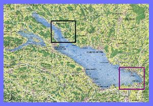 Bodensee-Landkarte