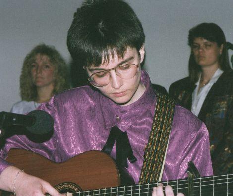 Gabi in concert