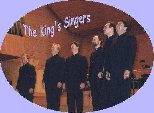 The King's Singers in Würzburg