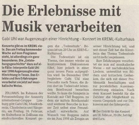 Rhein-Lahn-Zeitung 12.2.2005